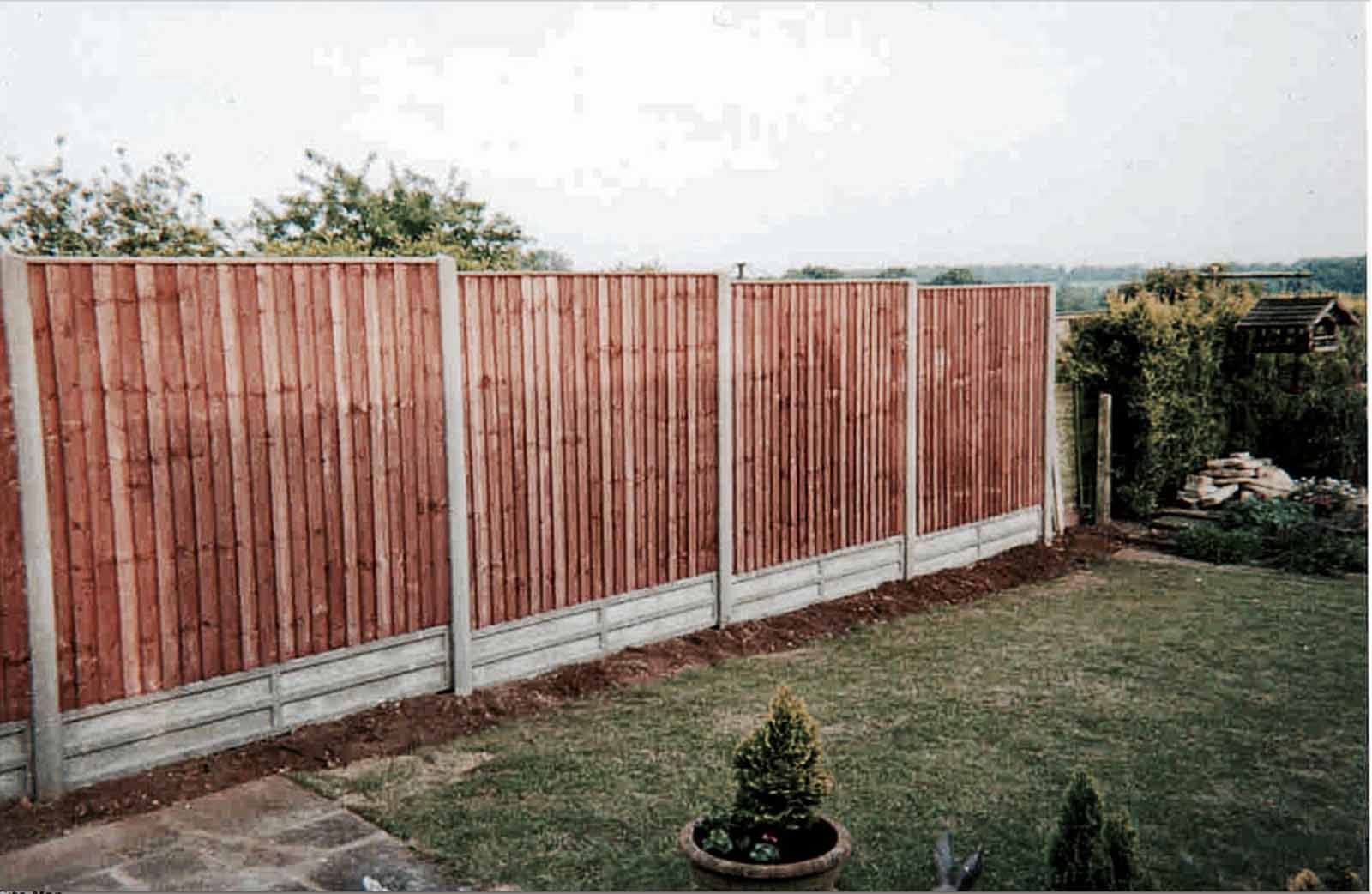 Heavy Duty Featheredge Fence Panel