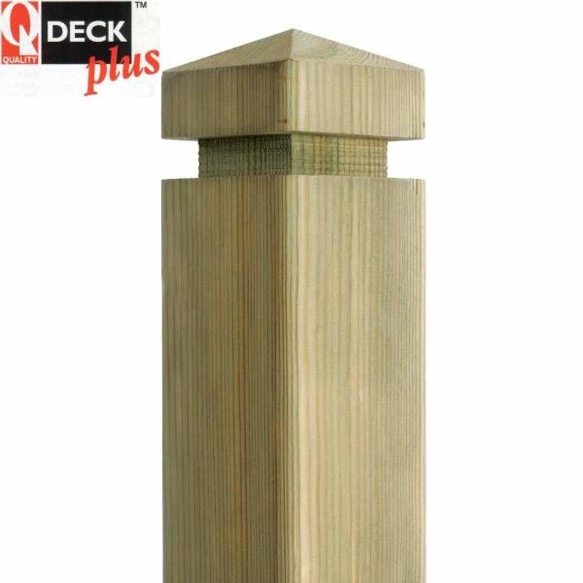 Q Deck Plus Contemporary Newel Post 85 X 85 X 1500mm Daws Heath Timber Ltd